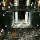 Vsi zvarni spoji so varjenje z Rostfrei elektrodami.
