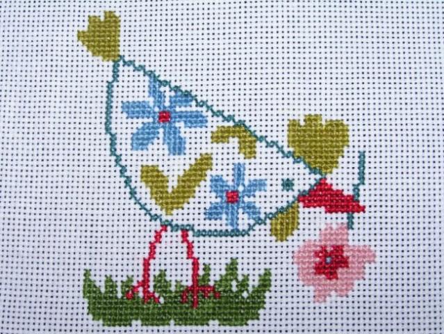 Križci (cross stitching) - foto