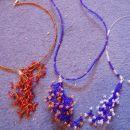 Ogrlice v obliki koral Cena za ogrlico je 10,43 EUR ali 2500 SIT