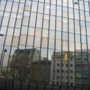 just a reflection of the city of Vienna