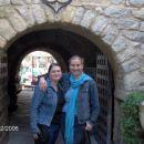 Jaz in moja frendica v medini!