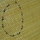 Enostavna verižica narejena z distančniki.