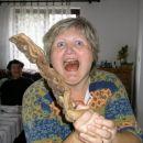 Ovo je moja žena Vesna. Ponekad je vrlo opasna.