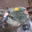 Če se Anji kdaj zalomi v šoli ima zagotovljen šiht čistilke čevljev :P praksa je bila opra