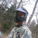 Denki je na bojišču strašil kot Terminator :)