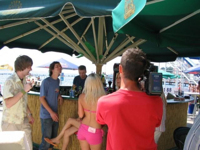 2006_07_06_Tanja Žagar videospot - foto