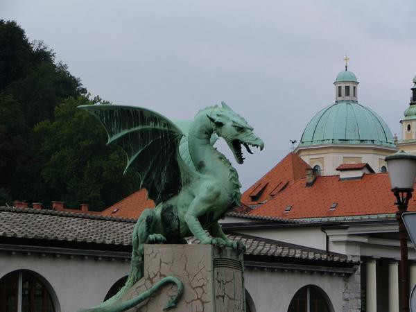 Dragon-Ljubljana symbol