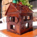 kmečka hiška za čajno svečko